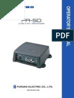FA50 Operator's Manual C2 3-10-11