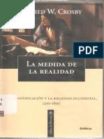 03- CROSBY, Alfred W - La Medida de La Realidad