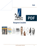 Arch Associates Management Consulting Firm Profile