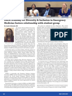 """SAEM Academy for Diversity & Inclusion in Emergency Medicine fosters relationship with student group"" by Jamila Goldsmith, MD in May-June 2015 SAEM Newsletter"