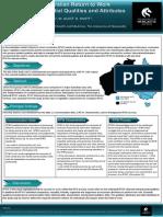 Role of Australian RTW Coordinator J Bohatko-Naismsmith Poster Achrf 2013