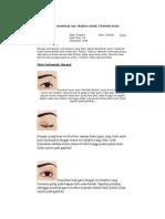 Tehnik membuat eye shadow untuk 3 bentuk mata.docx