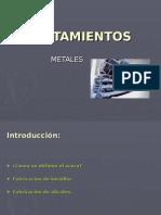 Tratamientos de Los Metales