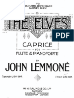 John Lemmone Caprice Flauto e Piano
