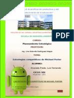 LAS ESTRATEGIAS COMPETITIVAS DE MICHAEL PORTER