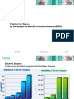 Treatment of Sepsis by Extracorporeal Blood Purification Systems