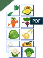 Vocabulario de Verduras
