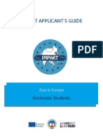 IMPAKT Guide Asia-EU Doctorate