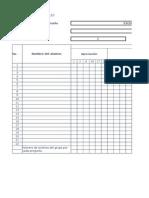 Formato Para Registrar Los Resultados Diagnóstico