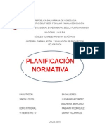 PLANIFICACION FORMATIVA