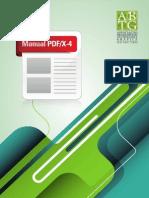 Manual para PDF X-4