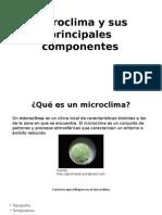 Microclima y Sus Principales Componentes