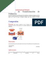 Técnicas de Transformación de Polímeros