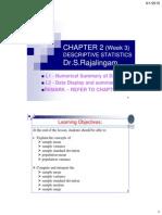 Chapter 02 W3 L1 L2 Descriptive Statistics 2015 UTP C4