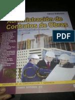 Administracion de Contratos de Obras
