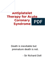 Antiplatelet Therapy for Acute Coronary Syndrome