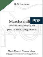 Schumann R. Marcha Militar