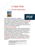 Free Cashflow