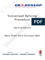 SM 226 Rev 0 Apex Steel Cord Vulcanised Splicing Manual