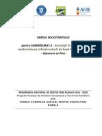 GHIDUL SOLICITANTULUI Pentru SubMasura 7.2 Septembrie 2015