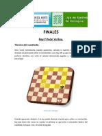 Curso Finales Rey Y Peón Vs Rey_Técnica del cuadrado