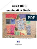 HD T Sublimation Guide