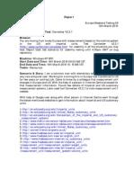 European Weekend Testing Session 09 Report