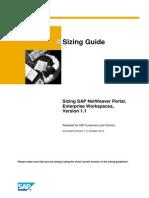 EWS Sizinsizing guide