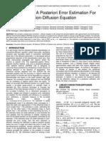 Neumann Type a Posteriori Error Estimation for Steady Convection Diffusion Equation