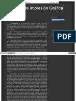 Métodos de Impresión Gráfica - Heliograbado
