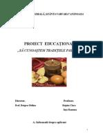 Proiect Obiceiuri Pascale Clasele V