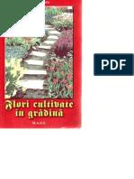 Flori Cultivate in Gradina - Elena Selaru - Editura M.A.S.T.