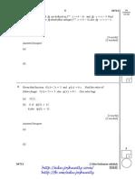 1 Functions - Form4 Add Math