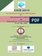ICICE 2014 Brochure
