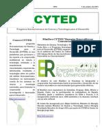 Boletín Cyted Nº25 2015 Web