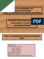 Tema 12. Cartografia de Riesgos(1)