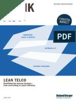 Roland Berger TAB Lean Telco 20140731