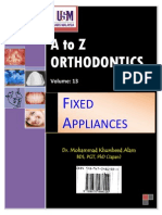 A to Z Orthodontics Vol 13 Fixed Appliances