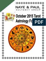 October Astro Forecast 2015
