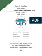 Aida Jurnal Praktikum Penentuan Konsentrasi Ion Bromida Dengan (Metode Volhard)