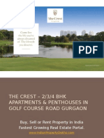The Crest – 2,3,4 BHK Apartments & Penthouses in Golf Course Road Gurgaon