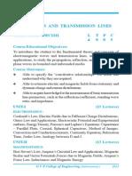 EM Waves and Transmission Lines