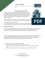 Crackingthecode Worksheet