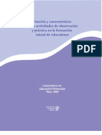 Función y Características de Las Actividades De