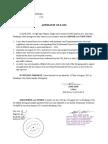 Affidavit of Loss (FINAL)