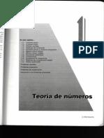Tema 1. Teoría de Números