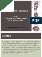 laringitis kronis
