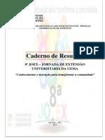Caderno de Resumos 8ª JOEX - Jornada de Extensão da UEMA 2015
