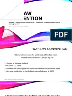 Report on Warsaw & COGSA