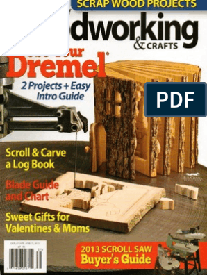 Scrollsaw Woodworking Crafts Issue 50